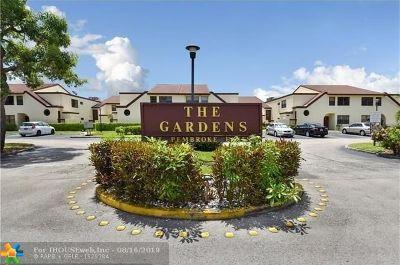 Pembroke Pines Condo/Townhouse For Sale: 11304 Taft St #11304