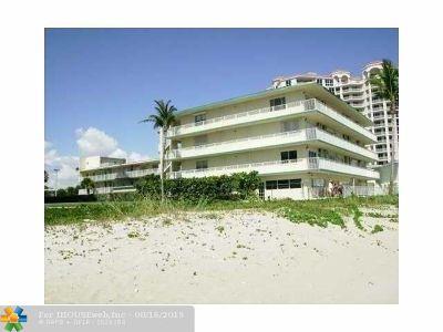 Pompano Beach Condo/Townhouse For Sale: 1480 S Ocean Blvd #209
