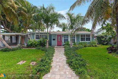 Pompano Beach Single Family Home For Sale: 2396 SE 6th St
