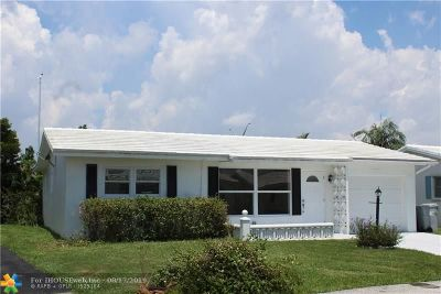 Pompano Beach Single Family Home For Sale: 2881 NW 2nd Ave