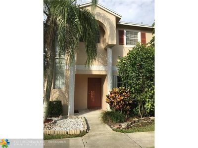 Sunrise Condo/Townhouse For Sale: 3877 NW 122nd Ter #L-1