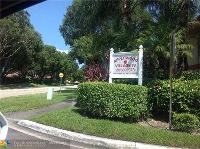 Coconut Creek Condo/Townhouse Backup Contract-Call LA: 2866 Carambola Cir #2057