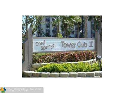 Coral Springs Rental For Rent: 2701 Riverside Dr #102-B