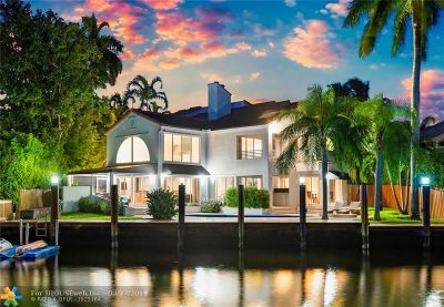 Fort Lauderdale Single Family Home For Sale: 2506 Aqua Vista Blvd