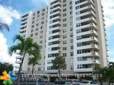Pompano Beach Condo/Townhouse For Sale: 2639 N Riverside Dr #505