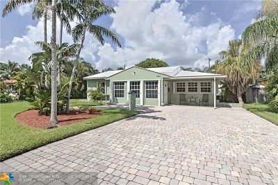 Fort Lauderdale Single Family Home For Sale: 1421 NE 16th Ave