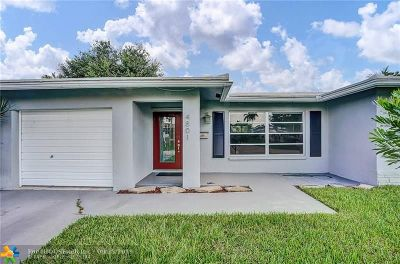 Tamarac Single Family Home For Sale: 4801 NW 58th St