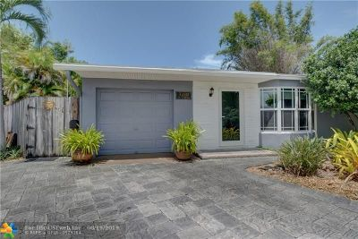 Oakland Park Single Family Home For Sale: 3450 NW 20th Ave