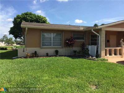 Tamarac Single Family Home For Sale: 7405 NW 58th Ct