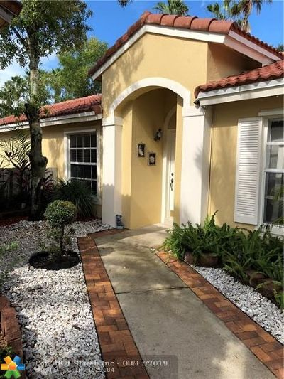 Sunrise Single Family Home For Sale: 1334 NW 125th Ter