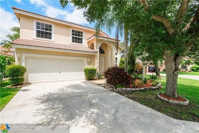 Coral Springs Single Family Home For Sale: 11551 NW 4th Mnr