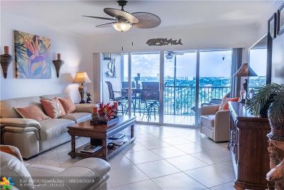 Pompano Beach Condo/Townhouse For Sale: 299 N Riverside Dr #902