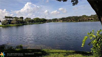 Pembroke Pines Condo/Townhouse For Sale: 1416 NW 97th Ter #279