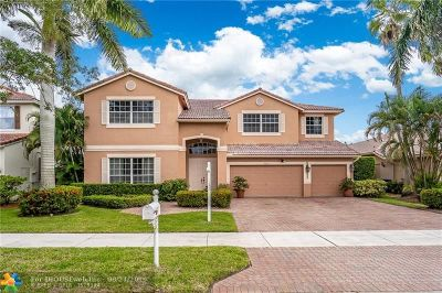 Coral Springs Single Family Home For Sale: 5631 NW 108th Ter