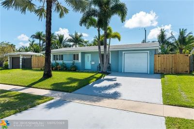 Deerfield Beach Single Family Home For Sale: 816 SE 16th Pl