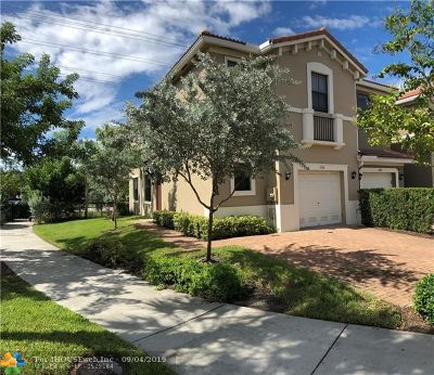 Pompano Beach Condo/Townhouse For Sale: 1004 NW 33rd Ct #1004