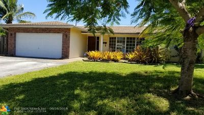 Fort Lauderdale FL Single Family Home For Sale: $425,000