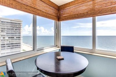 Condo/Townhouse For Sale: 4040 Galt Ocean Dr #1018
