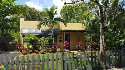 Fort Lauderdale Rental For Rent: 23 SE 12th Ave