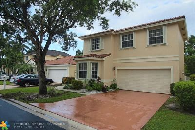 Coral Springs Rental For Rent: 11051 NW 46th Dr