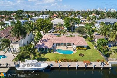 Fort Lauderdale Single Family Home For Sale: 2316 Castilla Isle
