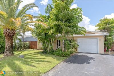 Fort Lauderdale Single Family Home For Sale: 6381 NW 31st Way