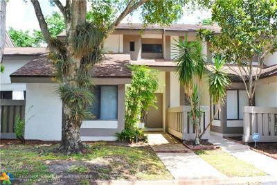 Plantation Condo/Townhouse For Sale: 9291 SW 1st St #703