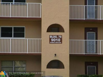 Sunrise Condo/Townhouse For Sale: 9010 Sunrise Lakes Blvd #310