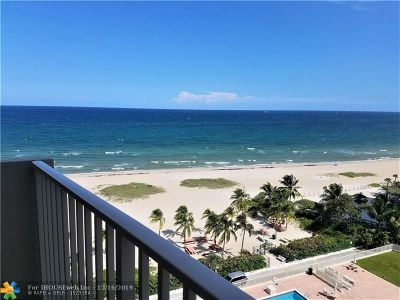 Pompano Beach Condo/Townhouse For Sale: 750 N Ocean Blvd #1104