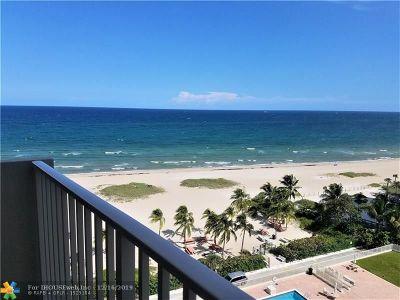 Pompano Beach FL Condo/Townhouse For Sale: $399,000