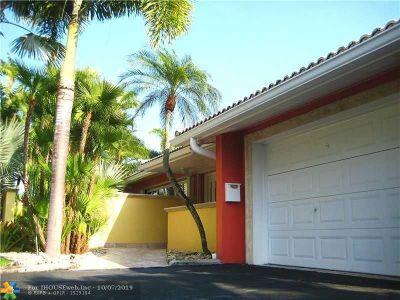 Fort Lauderdale Rental For Rent: 2724 NE 30th St