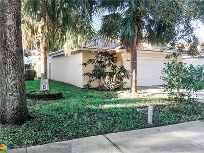 Coconut Creek Single Family Home For Sale: 3793 NW 63rd Ct