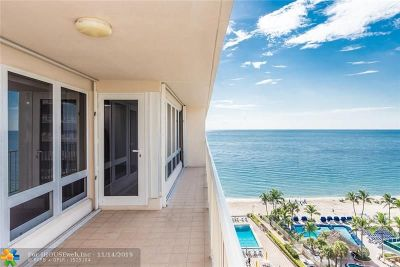 Fort Lauderdale Condo/Townhouse For Sale: 4100 Galt Ocean Dr #1106