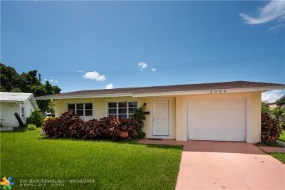 Tamarac Single Family Home For Sale: 4906 NW 56th Ct