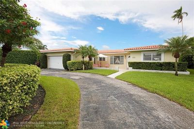 Pompano Beach Single Family Home For Sale: 2721 NE 6th St