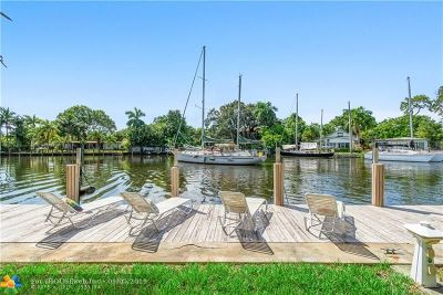 Fort Lauderdale Single Family Home For Sale: 444 Seminole Ave