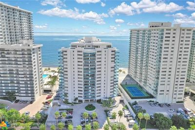 Condo/Townhouse For Sale: 3430 Galt Ocean Dr #1404