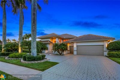 Boca Raton Single Family Home For Sale: 4268 Bocaire Blvd