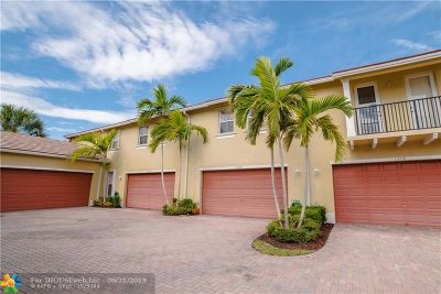 Coconut Creek Condo/Townhouse For Sale: 4601 Mimosa Ter #1309