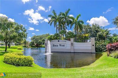 Boca Raton Condo/Townhouse For Sale: 7819 Lakeside Blvd #846
