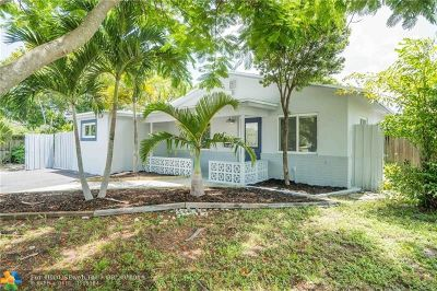 Pompano Beach Single Family Home For Sale: 3120 NE 2nd Ave