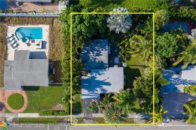 Wilton Manors Single Family Home For Sale: 401 NE 26th St