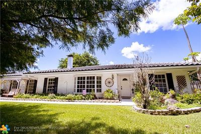 Coral Springs FL Single Family Home For Sale: $469,000