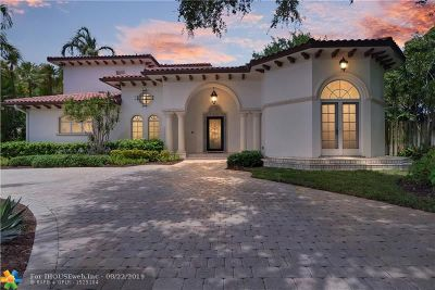 Fort Lauderdale Single Family Home For Sale: 644 Middle River Dr