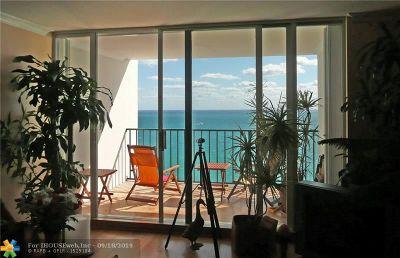 Hollywood Beach Condo/Townhouse For Sale: 2301 S Ocean Dr #2601
