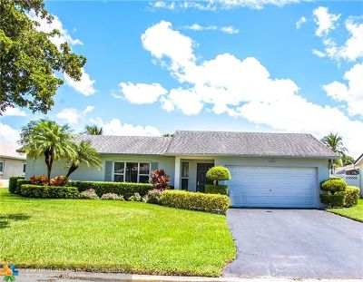 Coral Springs Single Family Home For Sale: 2653 NW 98th Way