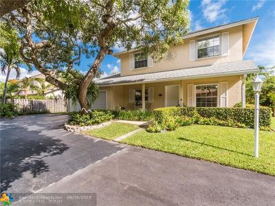 Plantation Single Family Home For Sale: 311 NW 78th Ave