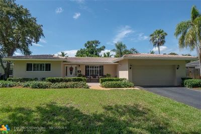 Plantation Single Family Home For Sale: 5640 SW 4th St