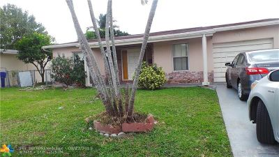 North Lauderdale Single Family Home For Sale: 6320 Kimberly Blvd