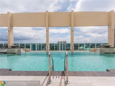 Fort Lauderdale Condo/Townhouse For Sale: 350 SE 2nd St #660